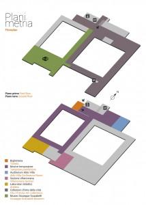 Planimetria Museo San Domenico