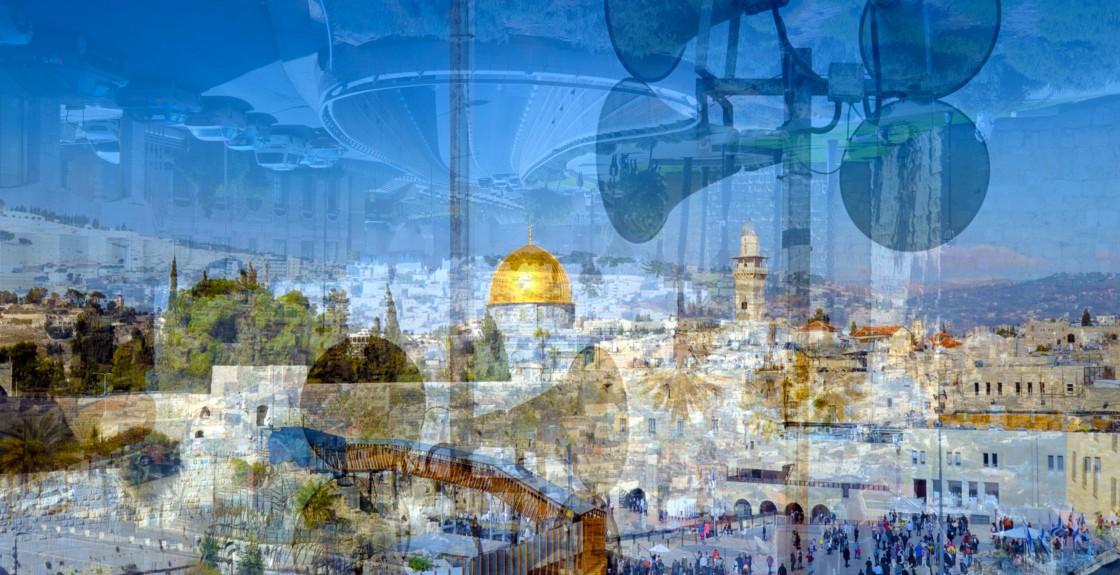 Gerusalemme, (Panoramica) 2016 copy